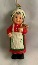 Mrs. Santa Claus Christmas Ornament 3.5""