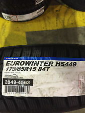 4 New 175 65 15 Falken Euro Winter HS449 Snow Tires
