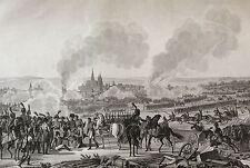 Bataille de Ratisbonne 23 Avril 1809 Roehn Napoléon Révolution 1850
