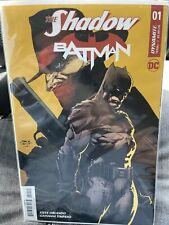 The Shadow Batman #1 Regular Cover A Finch Dc Dynamite Comics 2017