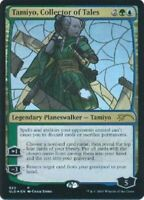 Stained Glass FOIL Tamiyo, Collector of Tales NM Secret Lair War PSLD Free Ship