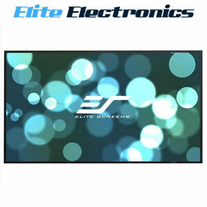 """ELITE SCREENS AR100WH2 100"""" 16:9 4K AEON EDGE FREE OR THIN FIXED FRAME PROJECTOR"""