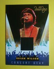 2013 Panini *The Beach Boys - Brian Wilson* Concert Gear Relic/Costume Card # 11