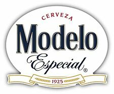 "Modelo Cerveza Especial Mexican Beer Drink Car Bumper Sticker Decal 5"" x 4"""