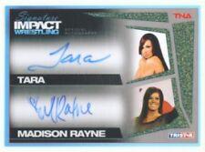 "TARA & MADISON RAYNE ""AUTOGRAPH CARD /25"" TNA SIGNATURE IMPACT"
