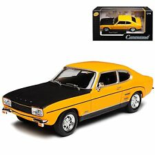 FORD CAPRI MKI 1:43 Car Model Die Cast Metal Cars Models Miniature Toy Yellow