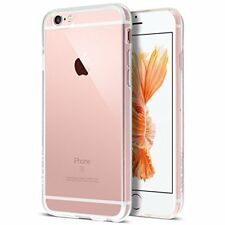 iPhone 6s Case, Transparent Clear Soft TPU Gel Cover and Screen Protector for iP
