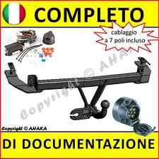 Gancio di traino fisso Fiat Panda 2002-2012 + kit elettrico 7-poli rimorchio