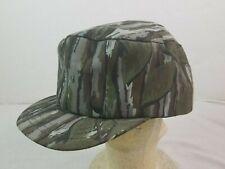 Vintage Sasquatch Snapback Camo Hunting Hat Cap Cotton USA MADE