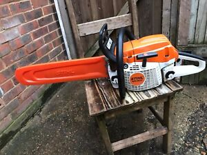 "STIHL MS261C CHAINSAW  JUST SERVICED.  18"" BAR"