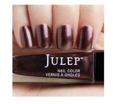 NEW! Julep nail polish VIRGINIA Vernis Mahogany iridescent molten shimmer