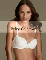 AU18D - 40D | Smoothlines Underwired T-Shirt Balcony Bra W2032 (Nude)