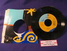 CHRIS ISAAK Except The New Girl/Dark Moon 45 Record REPRISE RECORDS