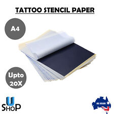 Upto 20x Tattoo Stencil Transfer Paper Spirit Thermal Carbon Tracing Copier