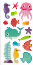 3D Epoxy Gel Stickers Sealife for Scrapbooking sticker Album school
