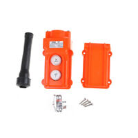 Rainproof Crane Pendant Control Switch Hoist Station Up-Down Button Heavy yuau
