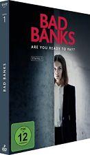 BAD BANKS 1 2018: German TV Drama Season Series w ENGLISH Subtitles NEW Euro DVD