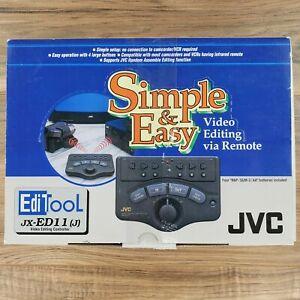 JVC Video Editing Controller JX-ED11 (J) Simple & Easy Video Editing Tool