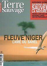 Terre Sauvage  N°205  mai 2005:Fleuve niger Bocage Mercantour Sentiers sauvage f