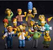 Los Simpsons figura 3´´ - 4´´ de Juguete 14PZAS / serie THE SIMPSONS colección