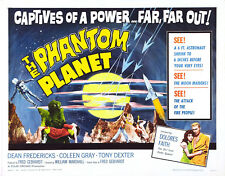 The Phantom Planet 1961 Sci-Fi 'B' Movie DVD
