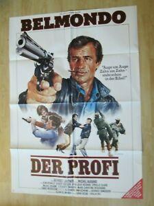 Filmplakat : Der Profi ( Jean-Paul Belmondo , Robert Hossein )