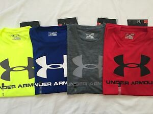 NWT Men's Under Armour Golf Heat Gear Loose Fit SS Polo Solid Multi Color/ Size