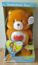 """NEW 2002 Care Bears Tenderheart Orange Talking Light Up Hug Bear Plush 13"""""""