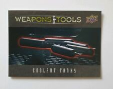 """Upper Deck Alien - WT4 - Weapons & Tools Trading Card """"Coolant Tanks"""""""