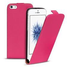 Slim Flip Cover Case Apple iPhone 5 S SE Schutzhülle Handy Schutz Hülle Tasche