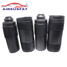 4pcs Front Rear Dust Cover Boot ABC Hydraulic Shock Absorber For Mercedes R230