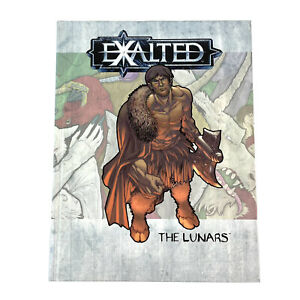 Exalted The Lunars Hardcover RPG Book White Wolf 2002 WW8812
