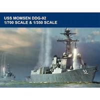 HobbyBoss 83413 1/700 Trumpeter 04527 1/350 USS Momsen DDG-92 Battleship Model