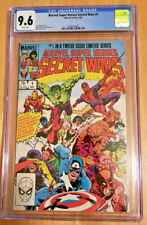 MARVEL SUPER-HEROES SECRET WARS #1 **CGC GRADED 9.6 WHITE PAGES**