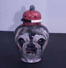 Custom Pet urn for ashes PUG DOG cremation urns pugs burial urn memoralize SMALL