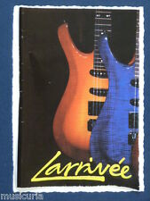 an/ handmade greetings / birthday card LARRIVEE GUITAR
