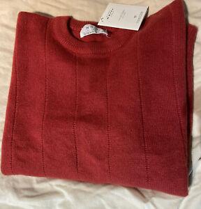 White Of Hawick Scottish Pure Cashmere Sweater Jumper. Ladies'