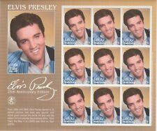 Maldives 6905 - 2017 Elvis Presley Perf Sheetlet contenant 9 valeurs U/M