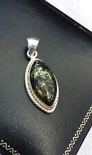 Apache gold pyrite sterling silver pendant