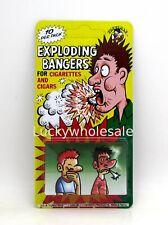 Pack of 10 Cigarette & Cigar Exploding Bangers Joke Prank Gag Jokes & Pranks New