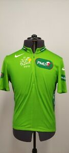 Nike Tour De France 2010 Mens Green Points Classification Jersey PMU Size L