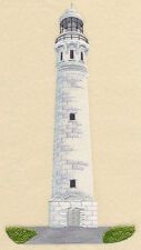 Cape Leeuwin Lighthouse (AustraliA) SET OF 2 BATH HAND TOWELS EMBROIDER BY LAURA