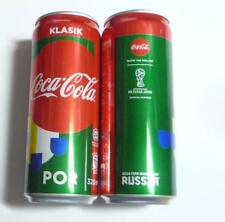 COCA COLA Coke Can MALAYSIA 330ml FIFA World Cup RUSSIA Collect 2018 PORTUGAL