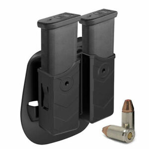 OWB Paddle Magazine Holster 9mm 40 Double Stack Pouch Holder For Glock Sig CZ SW