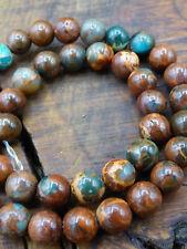 10mm Strang ~ Opal Edelstein Perlen Bastel Schmuck sehr Selten! Rarität