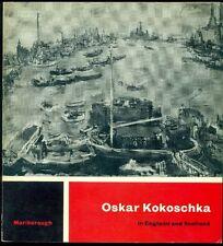 Oskar Kokoschka in England and Scotland. Catalogo. Marlborough Gallery 1960