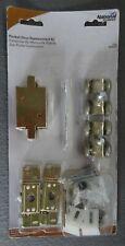National Hardware Pocket Door Replacement Kit Satin Brass Tone Set V150 N236-023