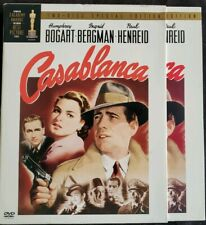 Casablanca (DVD, 2003, 2-Disc Set, Two Disc Special Edition) Humphrey Bogart