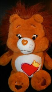 "Care Bear Cousin Brave Heart Lion Plush 14"" Just Play Stuffed Animal 2016"