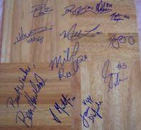 2008 - 2009 UCLA Bruins team signed floor Ben Howland Darren Collison Josh Shipp